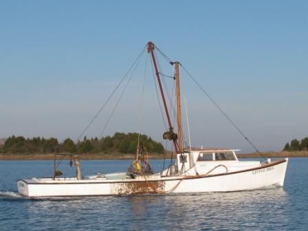 Chesapeake Bay Deadrise Oyster Boat