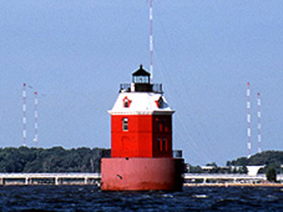 Sandy Point Shoal Light