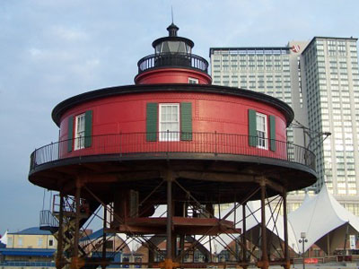Seven Foot Knoll Lighthouse